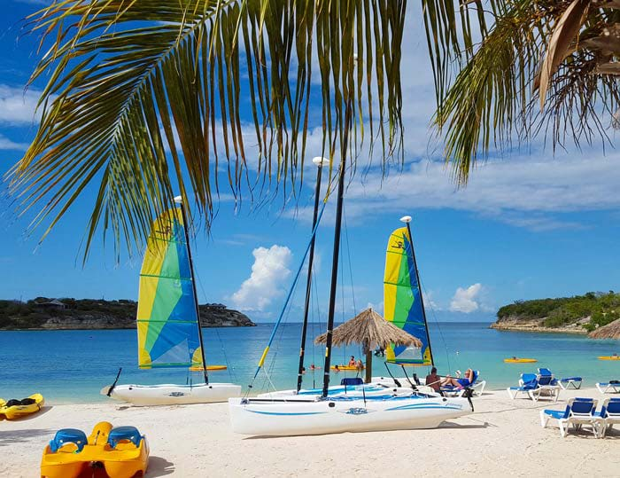 Verandah Resort sailboat rental