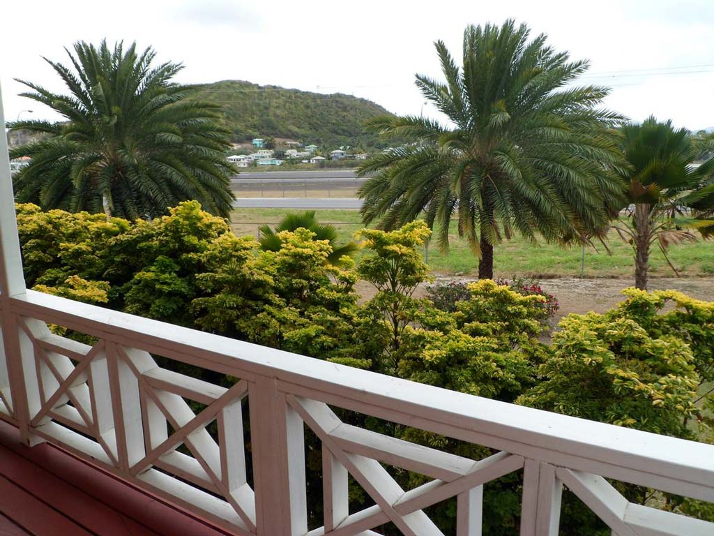 Wind Chimes Inn balcony view