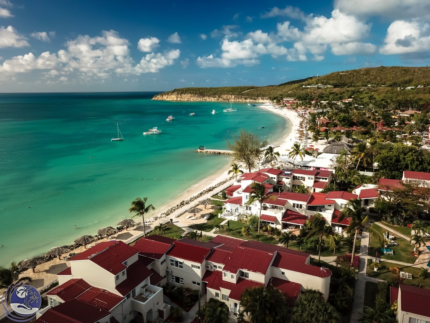 Antigua-village-aerial