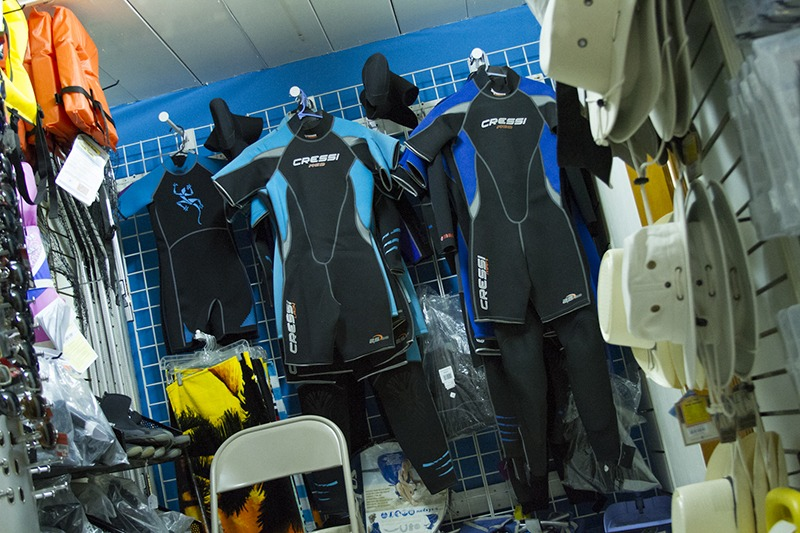 Aquasports dive suits