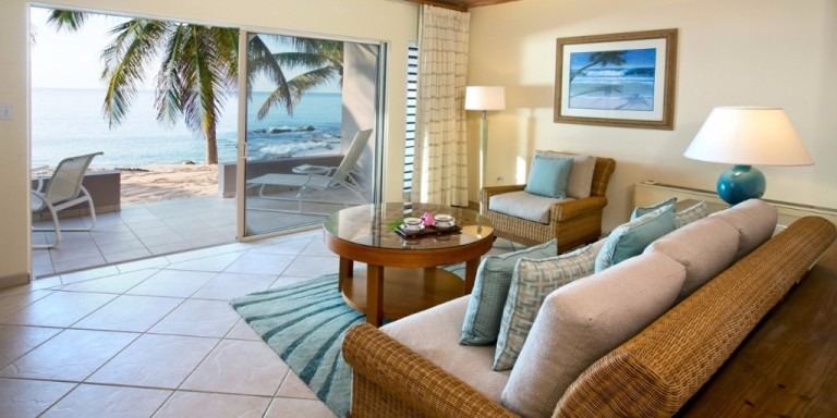 Curtain Bluff - Beach Front Room