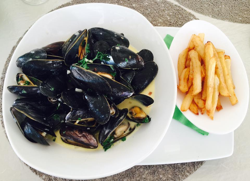 Catherine's Cafe mussels