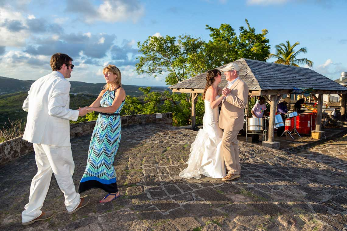 shirley heights antigua wedding
