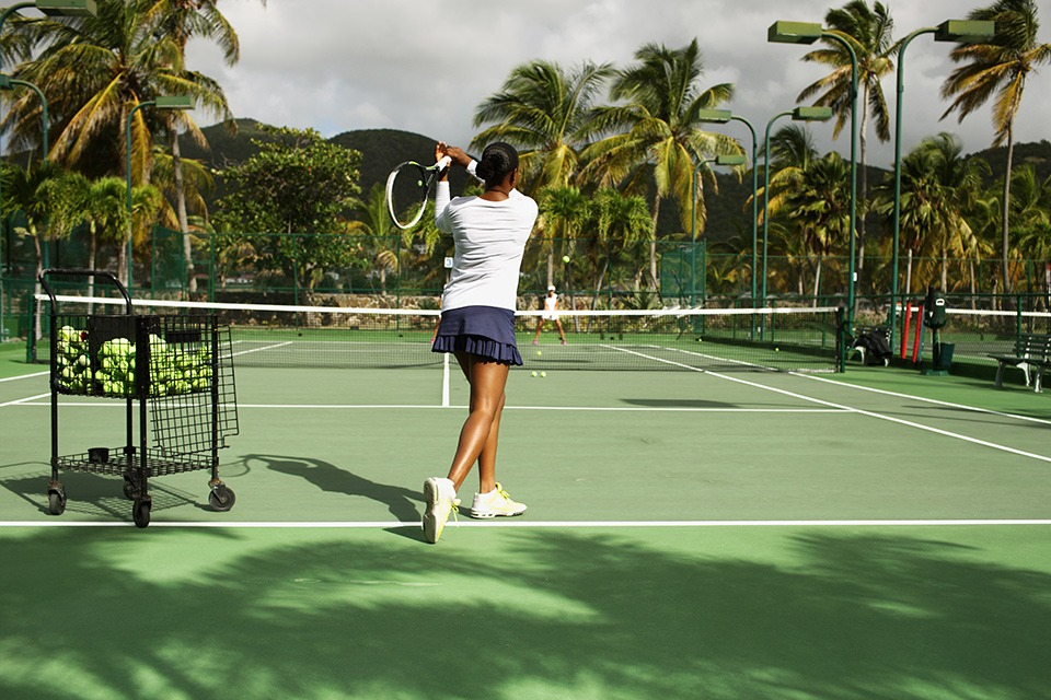 Curtain Bluff - Tennis